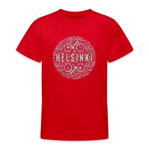 HELSINKI BICYCLE LIFE Tekstiilit ja lahja tuotteet - Nuorten t-paita