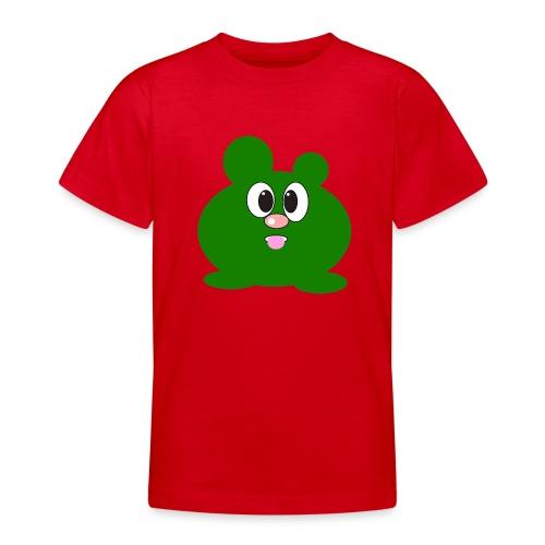 Green Monster by ArtShirt Kidz - Teenage T-Shirt