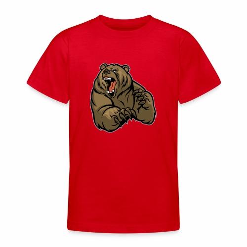 méchant grizzli - T-shirt Ado