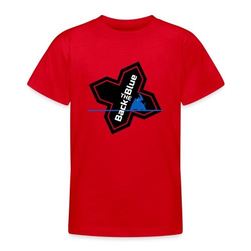 Back the Blue Rhinocross - T-shirt Ado