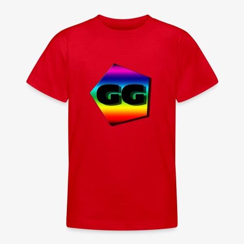 Rainbow GG - T-skjorte for tenåringer