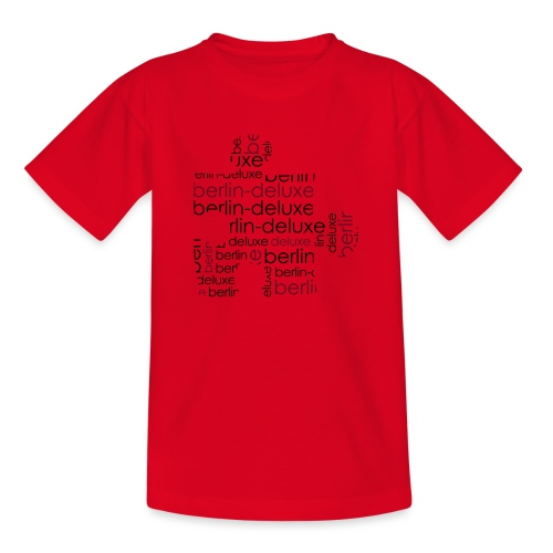 Berlin Deluxe Puzzle Motiv - Teenager T-Shirt