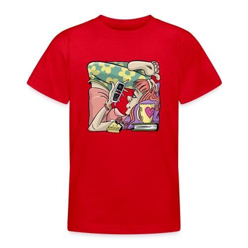 Student Girl Box Housing. T-shirts, Hoodies, Gifts - Nuorten t-paita