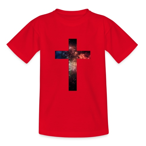 Cross Galaxy - Teenager T-shirt