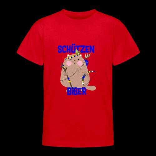 Schützenfest Biber Biberach Biberacher Schützen - Teenager T-Shirt