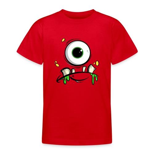 Monster Gesicht - Teenager T-Shirt