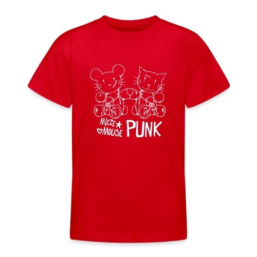 MIEZEMOUSE PUNK GIRLS - Teenager T-Shirt