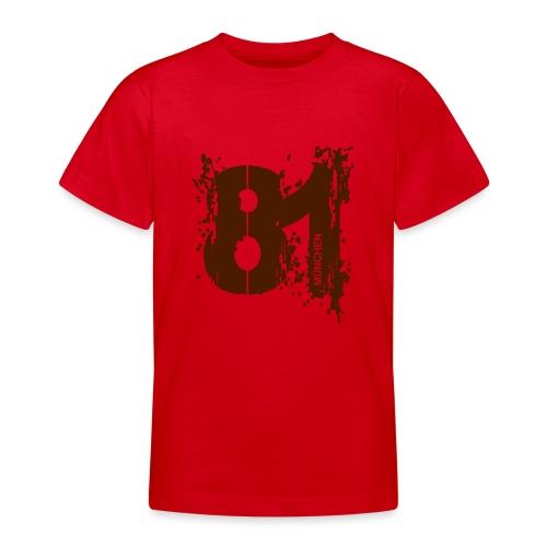 City_81_München - Teenager T-Shirt