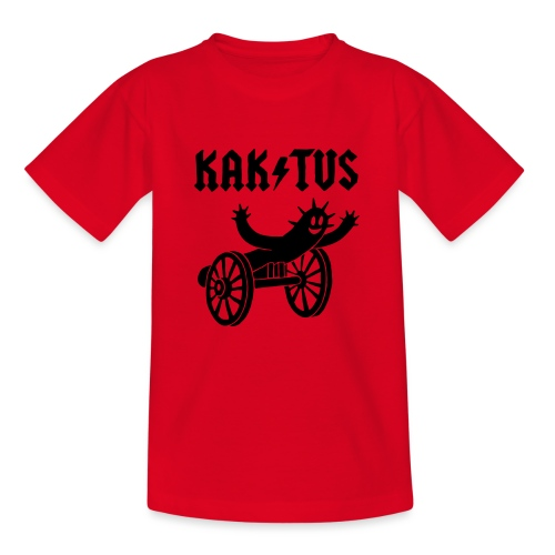 Kaktus Rock - Teenager T-Shirt