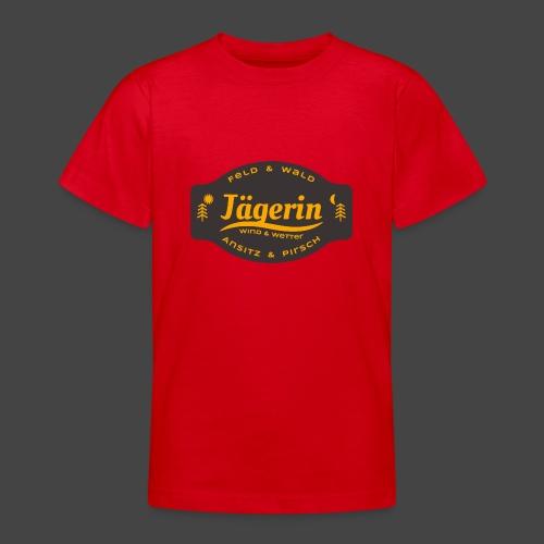 Das Jägerin-Shirt für aktive Jägerinnen - Teenager T-Shirt