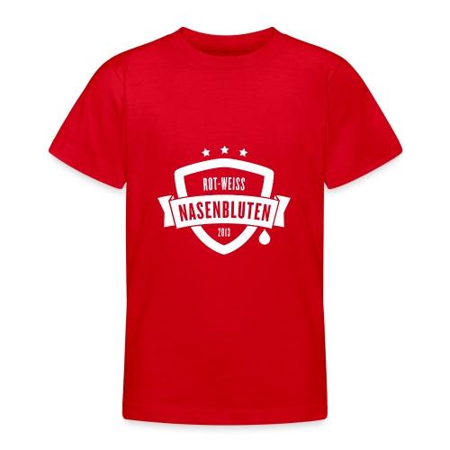 Rot-Weiß Nasenbluten e.V. - Teenager T-Shirt