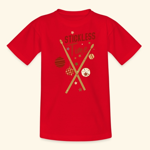 Stickless Time Drums - Teenager T-Shirt