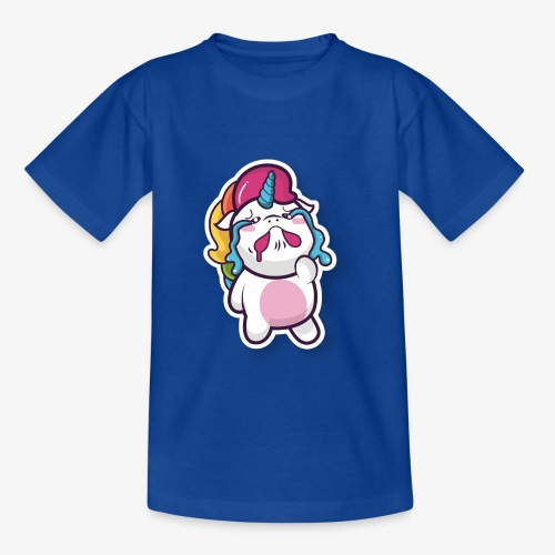 Funny Unicorn - Teenage T-Shirt