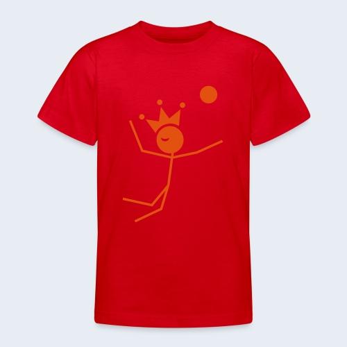 Volleybalkoning - Teenager T-shirt
