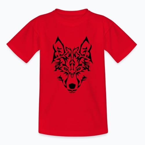 Tribal Wolf - T-shirt Ado