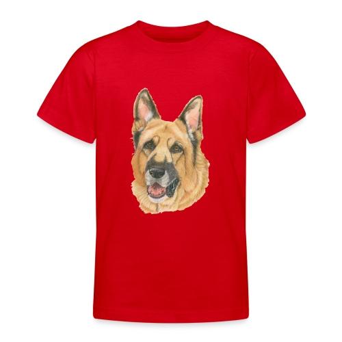 german shepherd color - Teenager-T-shirt
