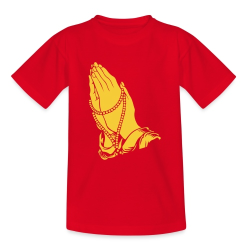 pray - Maglietta per ragazzi