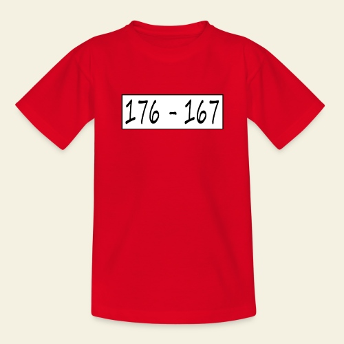 176167 - Teenager-T-shirt