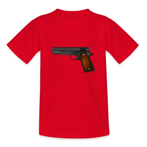 gun - Teenager T-shirt