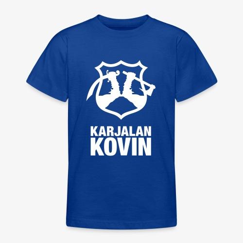 karjalan kovin pysty - Nuorten t-paita