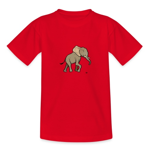 Afrikanischer Elefant - Teenager T-Shirt