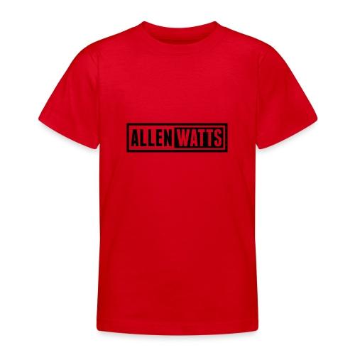 ALLEN WATTS LOGO DARK - Teenager T-shirt