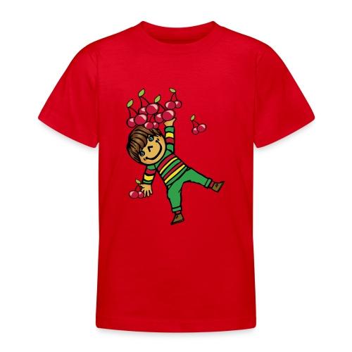 08 kinder kapuzenpullover hinten - Teenager T-Shirt