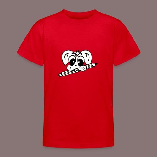 mister rabbitissimo school - Teenager T-Shirt