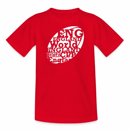 England Rugby World Cup - Teenage T-Shirt