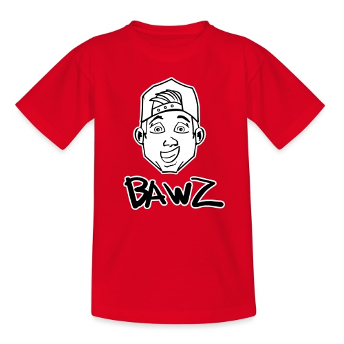 Bawz gezicht - Teenager T-shirt