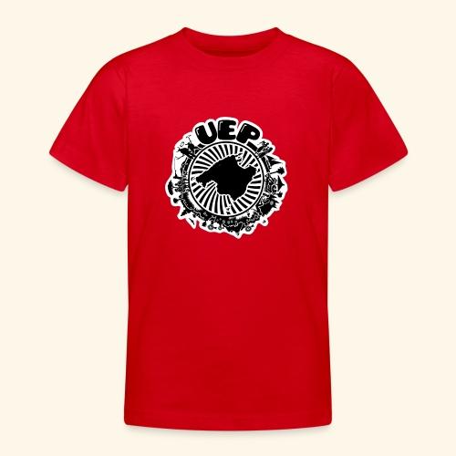 UEP white background - Teenage T-Shirt