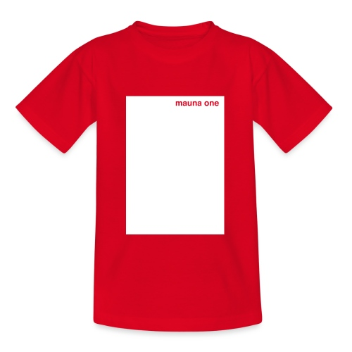 mauna one - Teenager T-Shirt