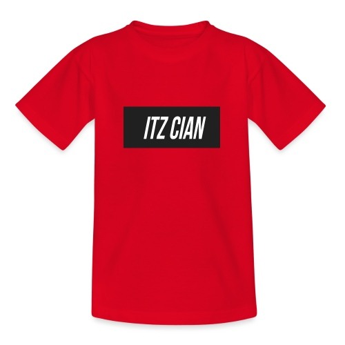 ITZ CIAN RECTANGLE - Teenage T-Shirt