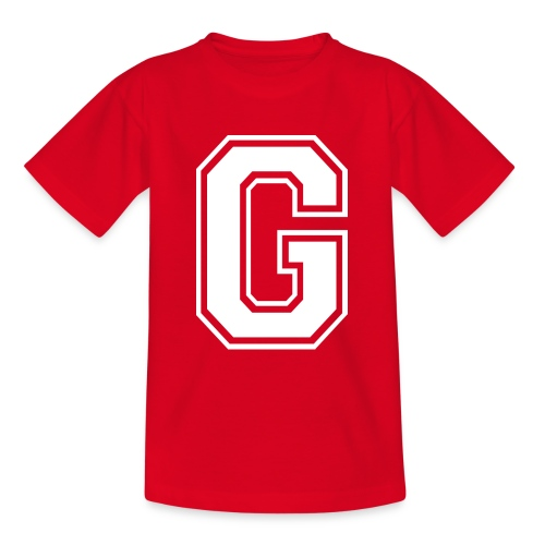 Grime Apparel G Grey Shirt. - Teenage T-Shirt