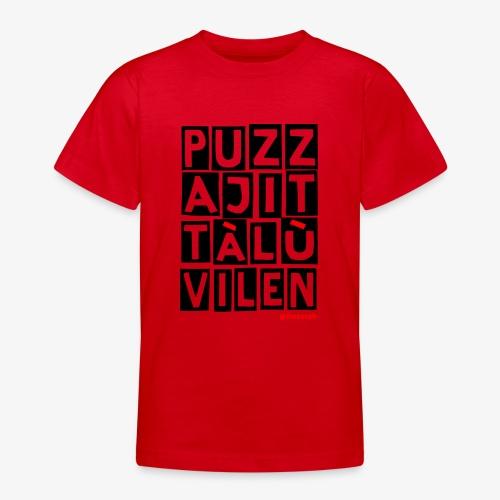 Puzza Jittà Lu Vilen - Maglietta per ragazzi