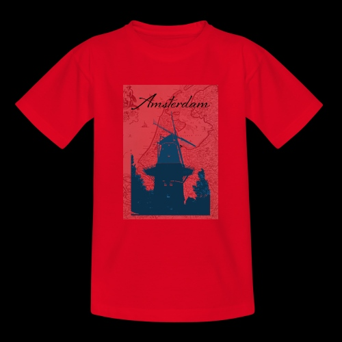 Amsterdam city - Teenage T-Shirt