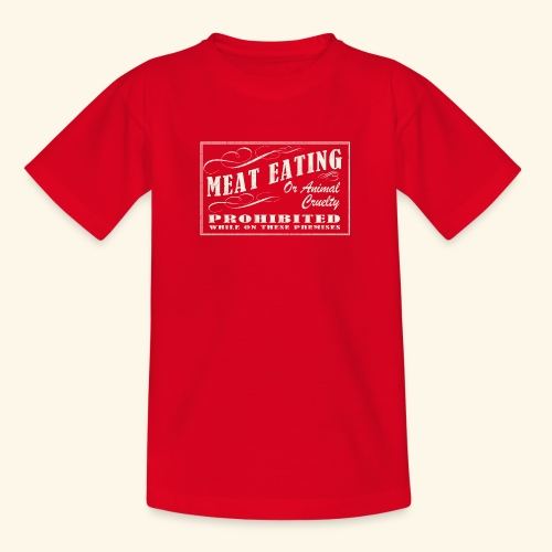 Prohibition Sign - Teenage T-Shirt