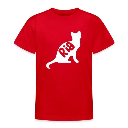 Team Ria Cat - Teenage T-Shirt