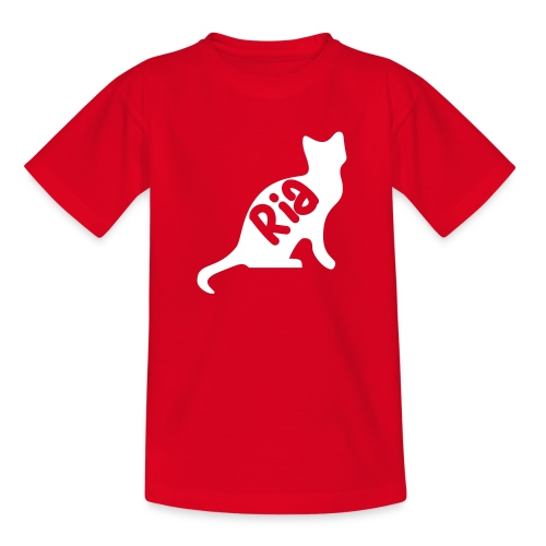 Team Ria Cat - Teenage T-Shirt
