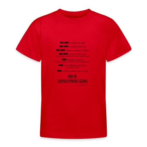 Vero standard svizzero - Maglietta per ragazzi