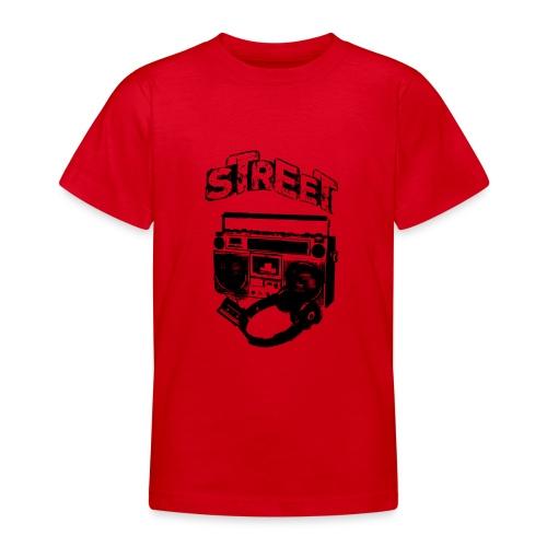 street 1 - Teenager-T-shirt