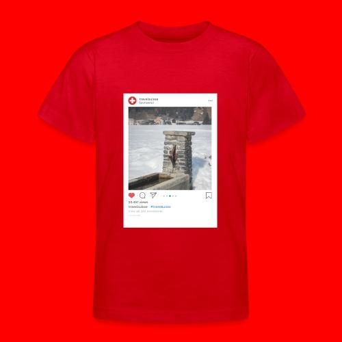 travelsuisse - Brunnen Trin - Teenager T-Shirt
