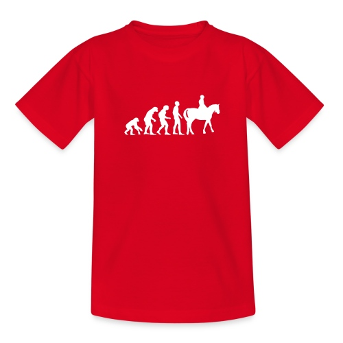 EVOLUTION HORSE - T-shirt Ado