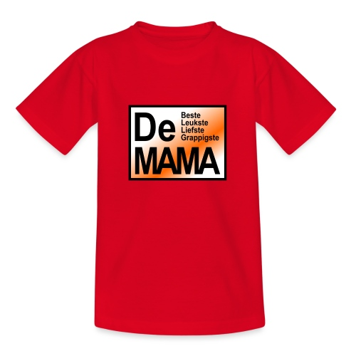 De mama oranje - Teenager T-shirt