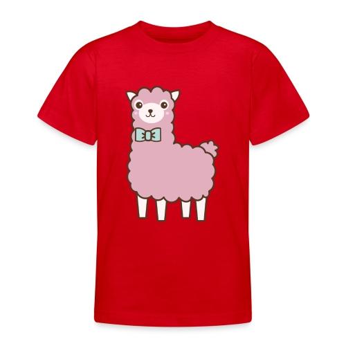 fluffy Lama - Teenager T-Shirt