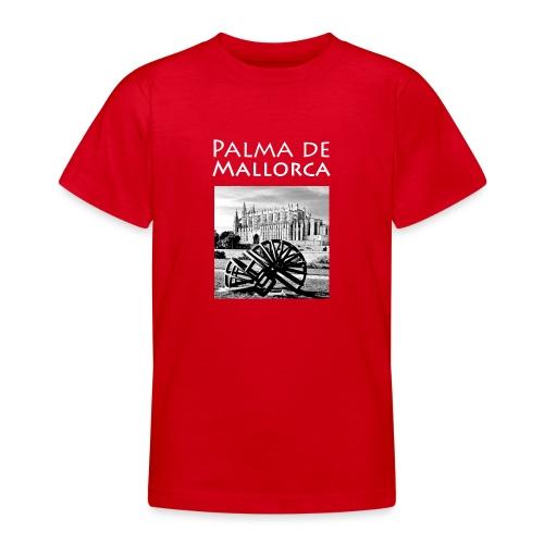 Palma de Mallorca mit Cathedrale Heiligen Maria - Teenager T-Shirt