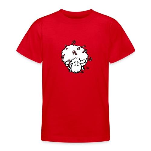 Zuckerstange-Schaf - Teenager T-Shirt