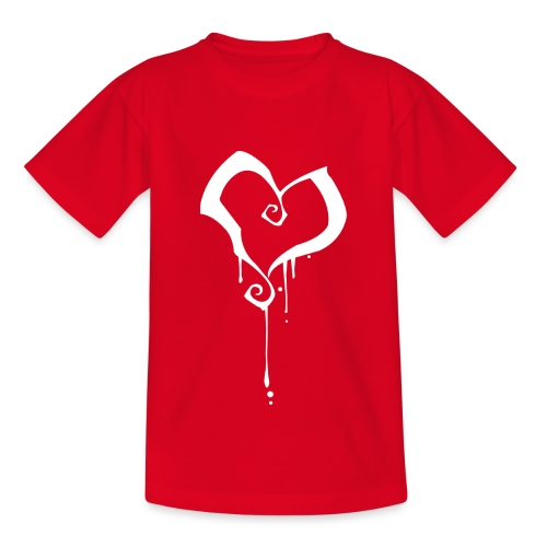 Coeur - T-shirt Ado