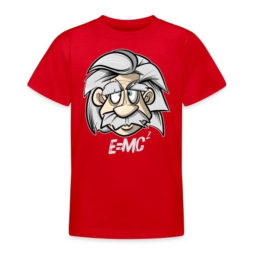 Albert Einstein E=MC2 - Teenager T-Shirt
