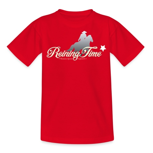Reiningtime Brand Logo Design - Teenager T-Shirt